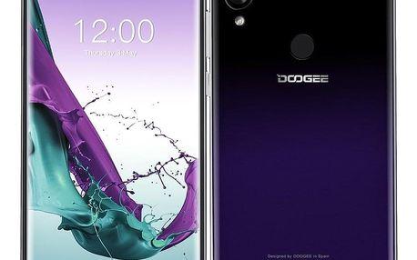 Mobilní telefon Doogee Y7 fialový (DGE000351)