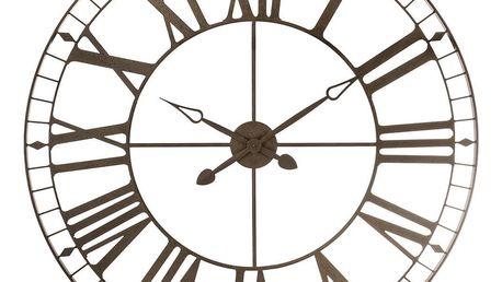 Emako Nástěnné hodiny ve stylu vintage, originální kovová dekorace