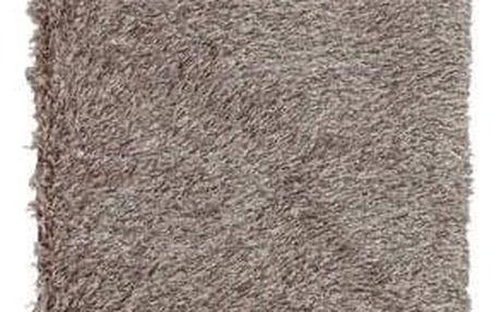 Tempo Kondela Kusový koberec Garson hnědá, 80 x 150 cm