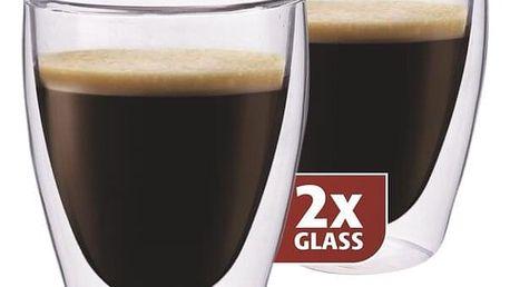 """Maxxo """"Coffee"""" 2dílná sada skleniček, 235 ml,"""
