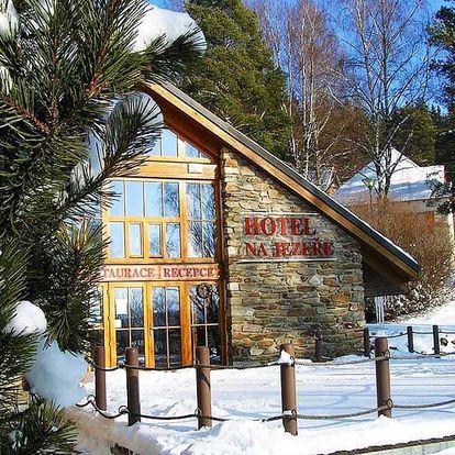 Vánoce na Lipně v Hotelu Na Jezeře pro dvě osoby
