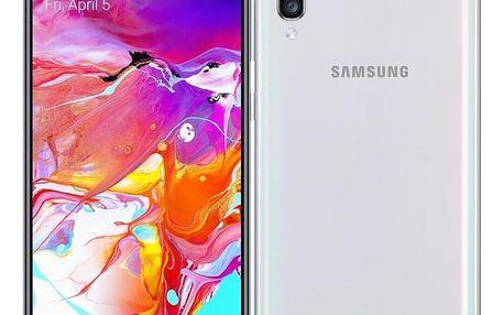 Mobilní telefon Samsung Galaxy A70 Dual SIM bílý (SM-A705FZWUXEZ)