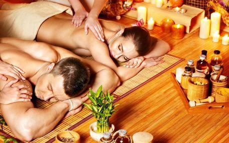 Hýčkání pro dva: párová masáž dle výběru