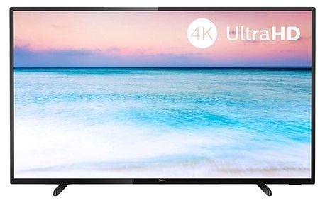 Televize Philips 50PUS6504 černá