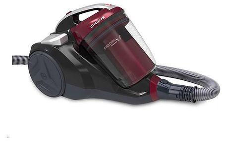 Vysavač podlahový Hoover Chorus CH50PET 011 černý/červený