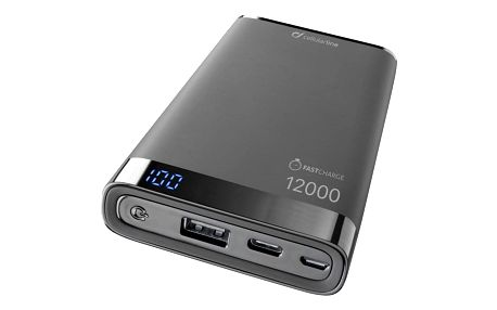 CellularLine Freepower Manta S 12000mAh, USB-C černá (FREEPMANTA12USBCK)