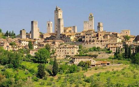 Itálie - Toskánsko autobusem na 5 dnů, strava dle programu