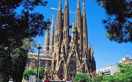 Španělsko - Barcelona autobusem na 5 dnů, strava dle programu