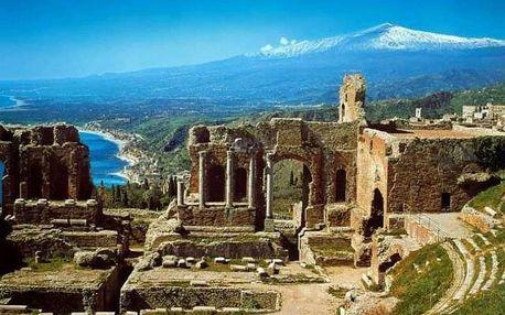 Itálie - Sicílie autobusem na 11 dnů, strava dle programu