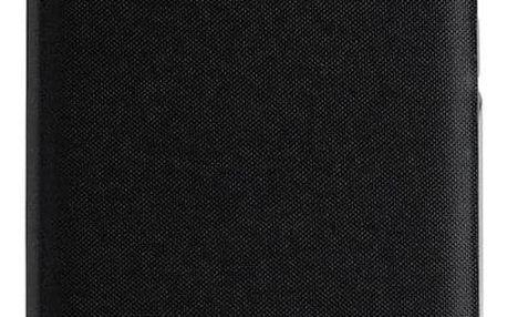 Pouzdro na mobil flipové Samsung Wallet Cover pro Galaxy A40 černé (EF-WA405PBEGWW)