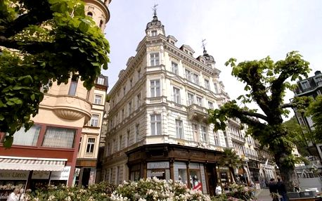 Silvestr v Karlových Varech v Hotelu Esplanade