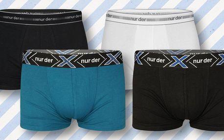 Set 5 ks pánských boxerek s 95% obsahem bavlny