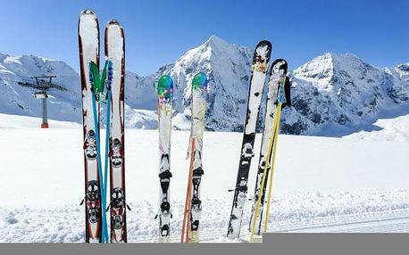 Vysoké Tatry u skiareálů ve srubech Hotelu Nezábudka *** s wellness a polopenzí