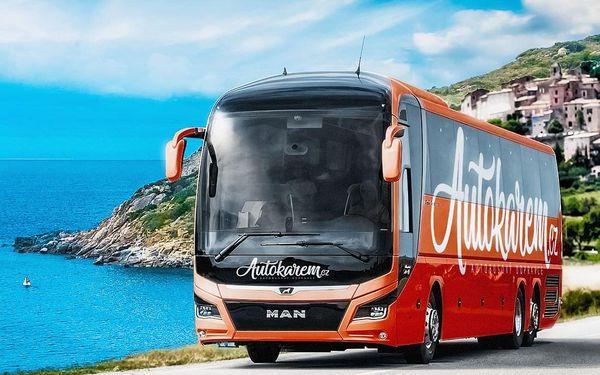 Autobusem|snídaně v ceně||Od 14. 11. (Čt) do 18. 11. 2019 (Po)2
