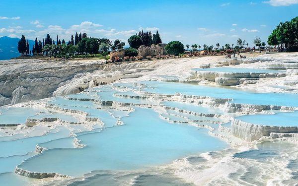 Výlety po Turecké riviéře: Pamukkale, Antalya aj.