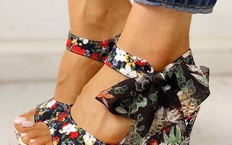 Dámské boty na klínu Ema