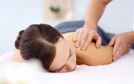 Hodinová masáž podle výběru od Nevidomých masérů