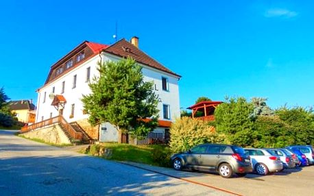 Lipno: Relaxace v Hotelu Hořice na Šumavě s polopenzí a privátním wellness