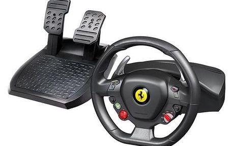 Thrustmaster Ferrari 458 Italia pro PC, Xbox 360 + pedály černý/červený (4460094)