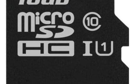 Kingston Canvas Select MicroSDHC 16GB UHS-I U1 (80R/10W) (SDCS/16GBSP)