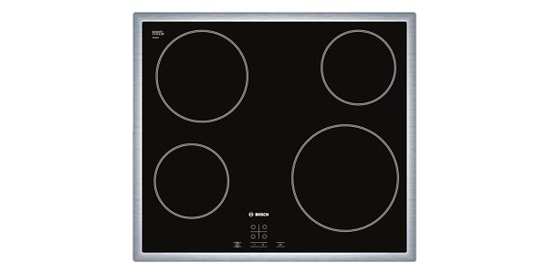 Sklokeramická varná deska Bosch PKE645D17E nerez