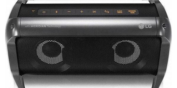 Přenosný reproduktor LG PK5 černé5