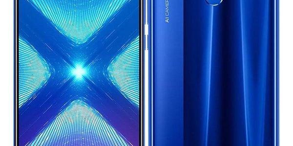 Honor 8X 64 GB Dual SIM modrý (51093VPL)