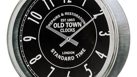 Emako Nástěnné hodiny OLD TOWN, kulaté, Ø 30 cm