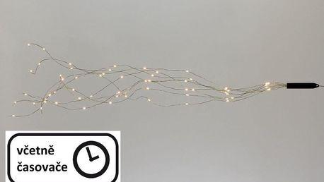 Nexos 57376 Vánoční dekorativní osvětlení – drátky - 200 LED teple bílé