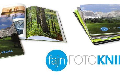 Velká fotokniha A4 v pevné laminované vazbě na křídovém papíře