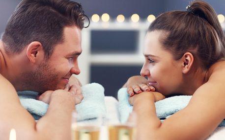 Wellness pro 2: partnerská masáž, vířivka, sauna