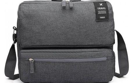 Dámská tmavě šedá cestovní taška Lexie 6851