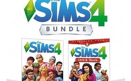 EA Xbox One The Sims 4 Základní hra + Psi a Kočky (EAX372903)