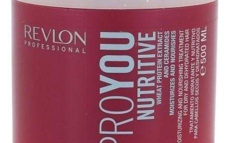 Revlon Professional ProYou Nutritive 500 ml maska na suché vlasy pro ženy