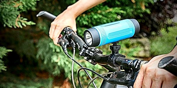 Přenosný reproduktor Evolveo XL2 (ARM-XL2-BLU) černé/modré2