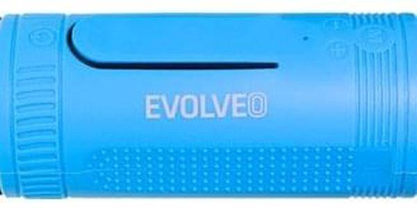 Přenosný reproduktor Evolveo Armor XL2 černé/modré (ARM-XL2-BLU)