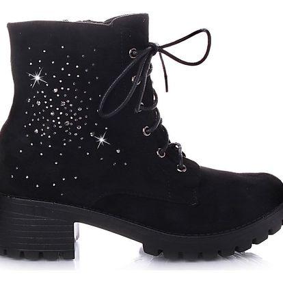 BLESS Kotníkové zimní boty Q5B Velikost: 37 (24 cm)
