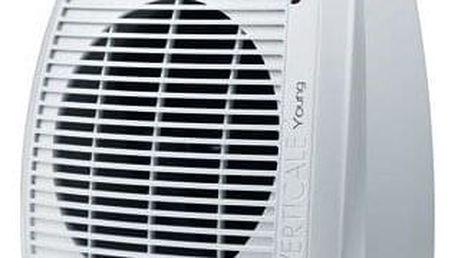 Teplovzdušný ventilátor DeLonghi HVY1020 bílý
