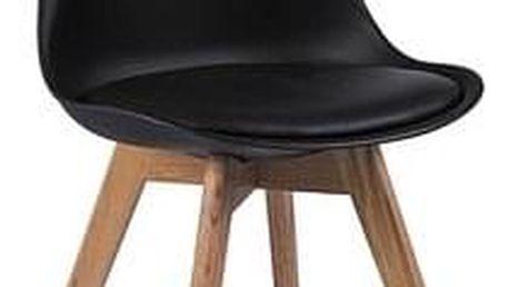 Jídelní židle KRIS buk/černá