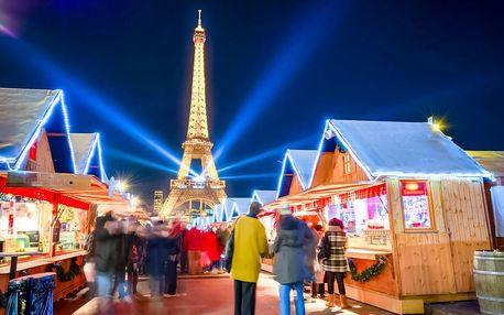 Adventní Paříž a Versailles | 4denní zájezd na vánoční trhy do Francie
