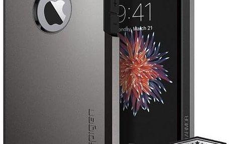 Kryt na mobil Spigen Tough Armor Apple iPhone 5/5s/SE - gunmetal (041CS20188)