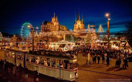 Adventní Erfurt | Jednodenní zájezd na vánoční trhy do Německa