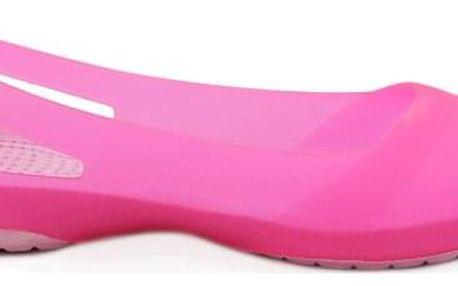 BALADA Neonové gumové baleríny 1301PI Velikost: 36 (23 cm)