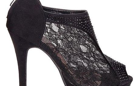 BLESS Krajkové sandály 1553B Velikost: 40 (26 cm)