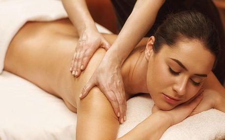 Sportovní a relaxační masáž: 60 nebo 90 min.