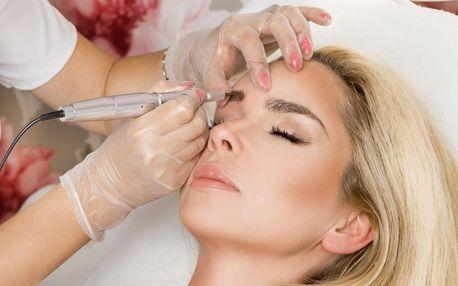 Permanentní makeup obočí metodou shading ombre