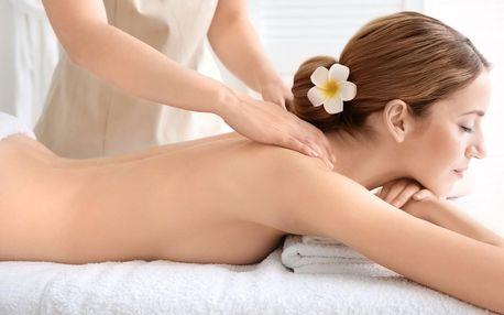 Thajská masáž zad a šíje: 30 nebo 60 minut