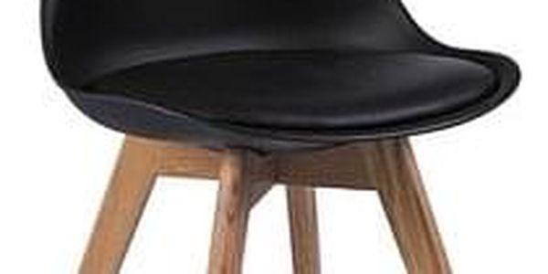 Jídelní židle KRIS buk/černá2