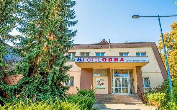 Beskydy v Hotelu Odra *** s plnou penzí, wellness s bazénem a řadou procedur