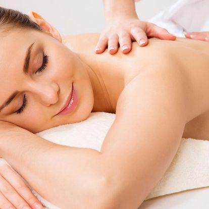 Uvolňující masáž dle výběru z 5 druhů
